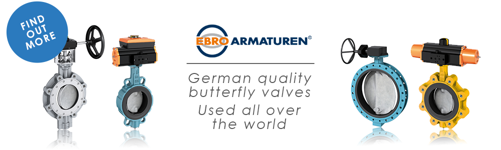 EBRO Armaturen - German quality butterfly valves used all over the world