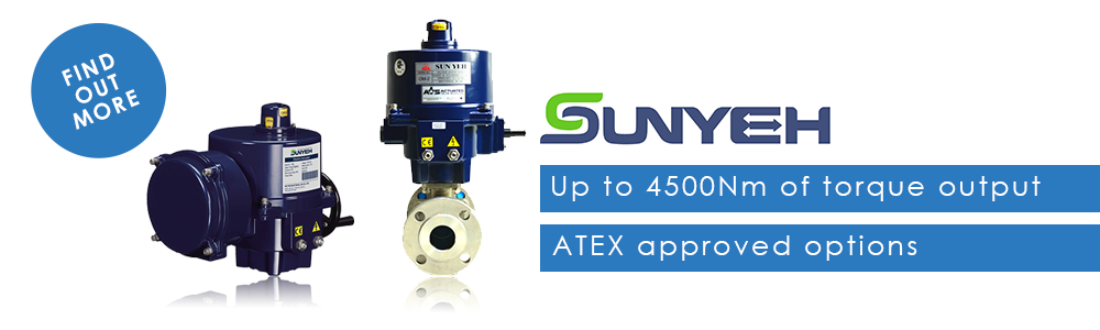 Sun Yeh - Up to 4500Nm of torque with ATEX approved options