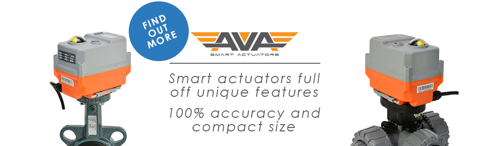 AVA - A Smart Actuator Company whose electric valve actuators are full of unique features