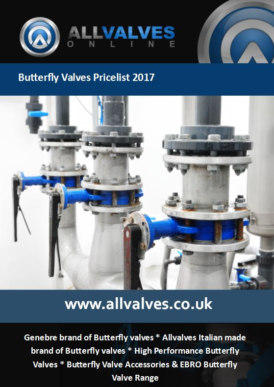 Butterfly valve Price List 2017 Now Available