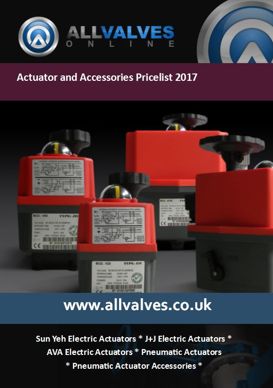 Actuators & Accessories Price List 2017 Now Available