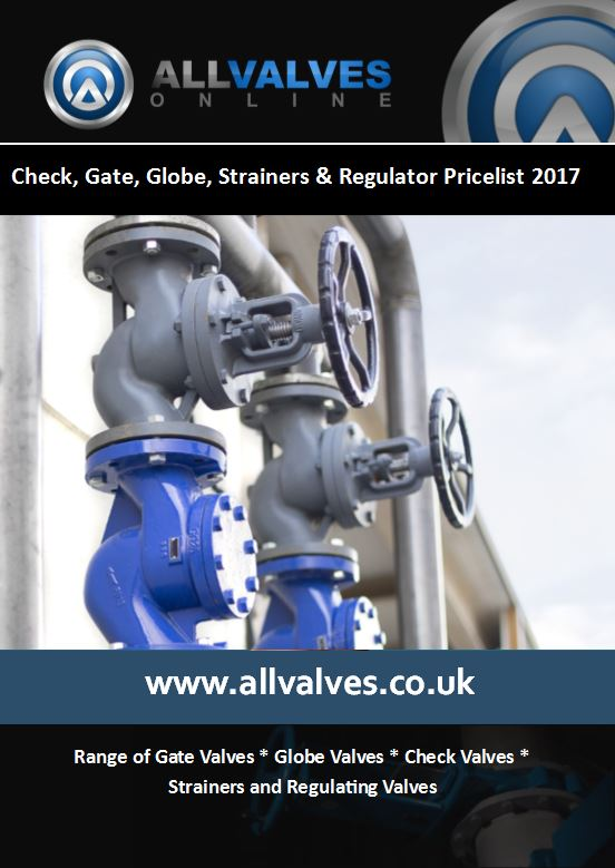 Gate, Globe, Check Valve Price List 2017 Coming Soon
