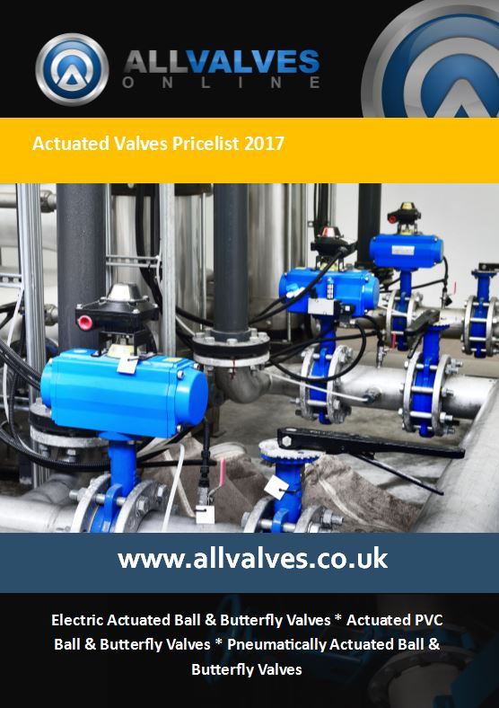 Actuated Valve Price List 2017 Now Available