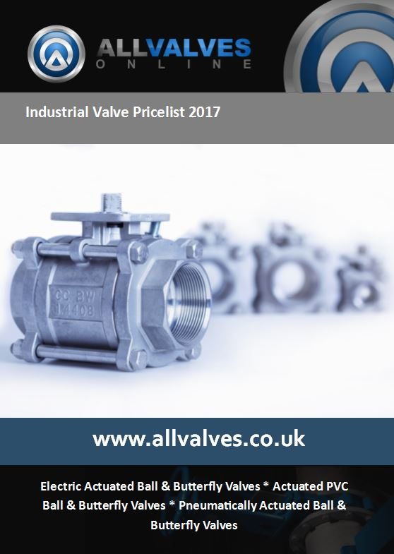 Industrial Valve Price List 2017 Coming Soon