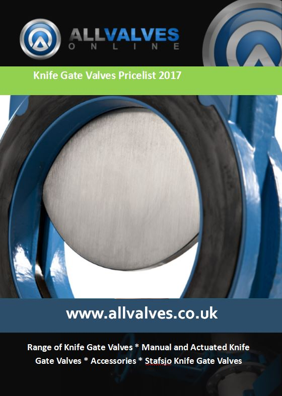 Knife Gate Valve Price List 2017 Now Available